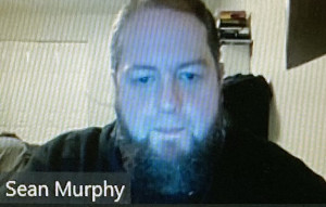 SEAN MURPHY: Shown on Zoom at the Local 888 2020 Convention.