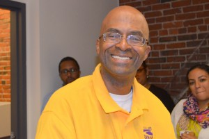 City of Boston streetworker Anthony Meeks urges public workers to make every person they serve feel important.